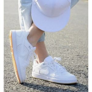 NEW Nike Son Of Force Triple White